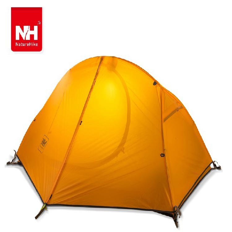 Naturehike Lightweight aluminum pole double layers tent 20D silicone material / 210T nylon fabric outdoor c&ing  sc 1 st  Alibaba : tent fabric uk - memphite.com