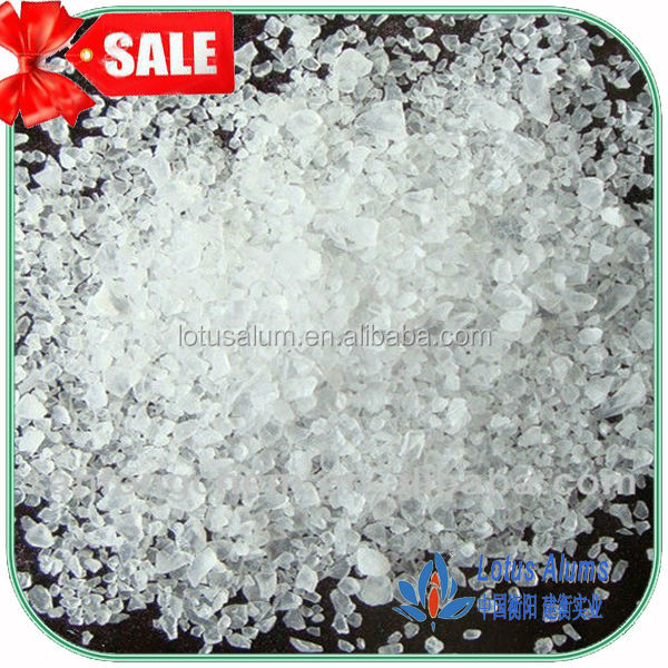 cheap price for low ferric aluminum sulfate crystal