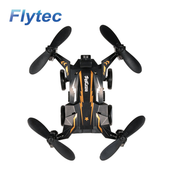 Flytec SBEGO 132 Mini Drones Toys Pocket Flying Car Drone Quadcopter Black