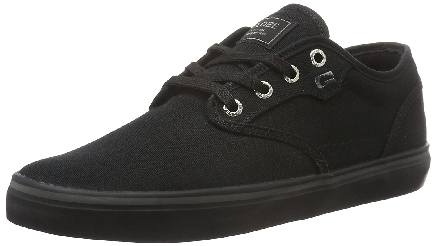 Globe Shoes Lace Up Low Shoe Motley Mid Kids Black Warm Padding Clothing, Shoes & Accessories