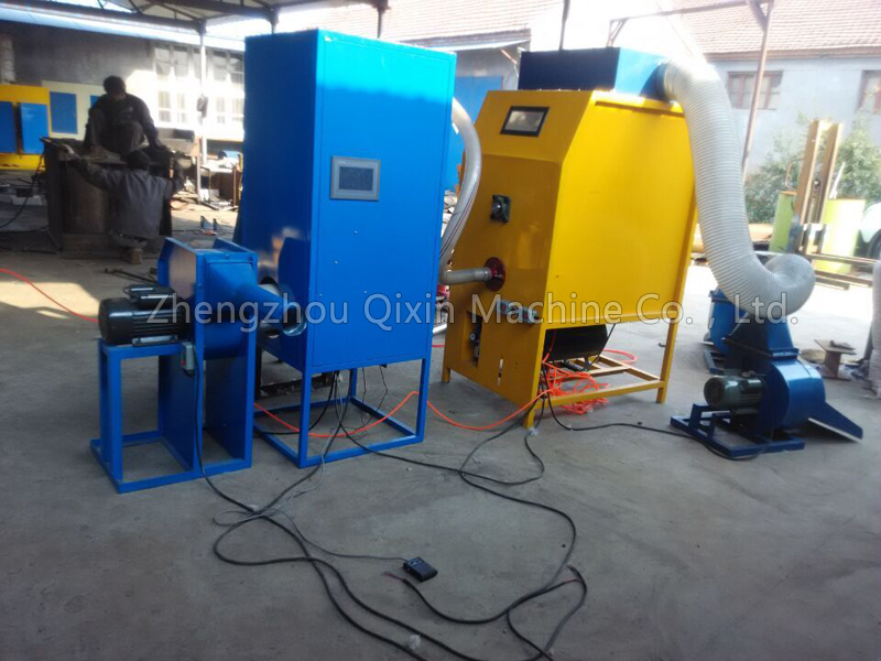 Wol afval recycling machine