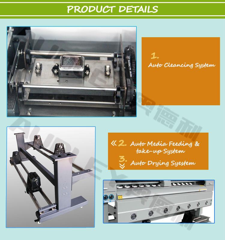 Audley Eco Solvent Digital Flex Banner Printing Machine Price In ...