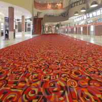 Luxury Custom Wool Blend Casino Carpet W-D101 Series