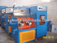 HT-15DT Fine bress Wire Drawing Machine with Annealer and Double Spooler
