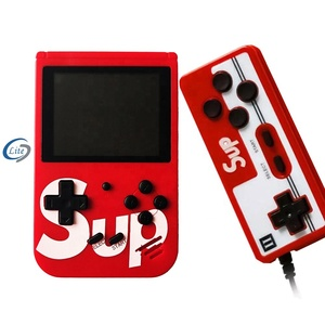 Dual Controller Portable Mini Game Player Holder Handheld TV Video sup Game Console Built- in 400 Retro Classic Games support