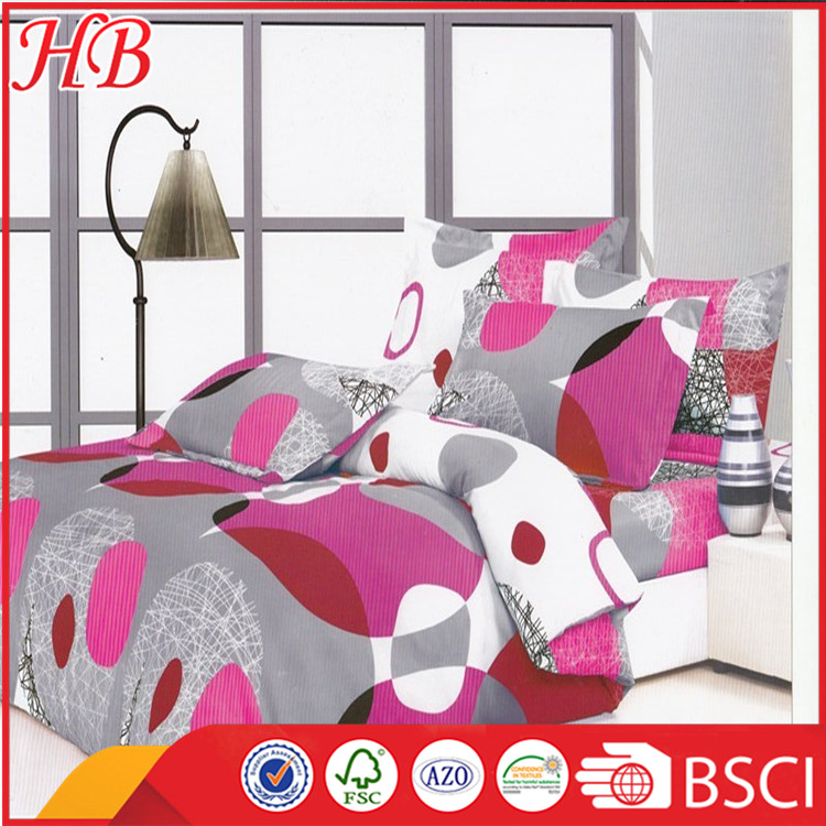 diseo de moda impresa king size comforter bedding set juegos de edredones ropa de cama
