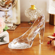 Hot sale mini Christmas decoration colorful crystal shoe ornament