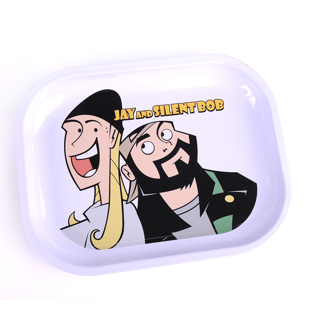 Custom Rick And Morty Smoking Tin Metal Herb Weed Rolling Serving Tray -  Buy Rolling Tray,Weed Rolling Tray,Custom Rolling Tray Product on  Alibaba com