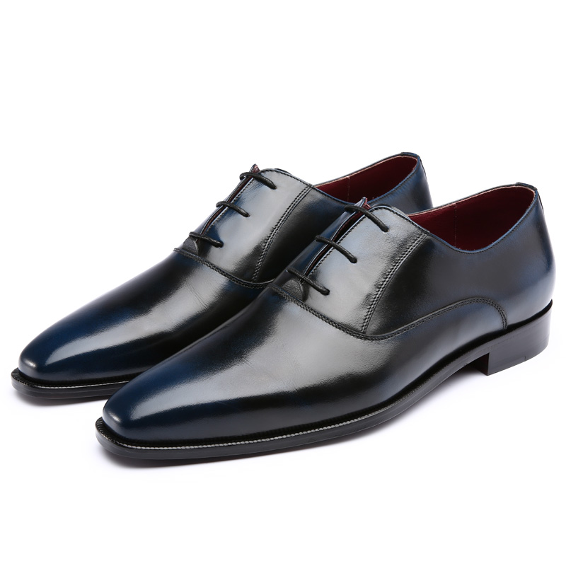 TERSE Factory sale custom mens design real leather dress shoes handmade men gender footwear