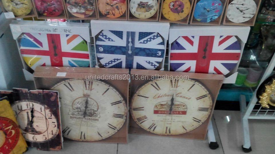 World map painted wall clocksantique wall clock wooden wall clock world map painted wall clocks antique wall clock wooden wall clock gumiabroncs Images