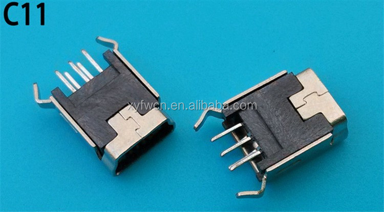 free sample type 5 pin mini-usmini b b pinout female usb connector, Wiring diagram