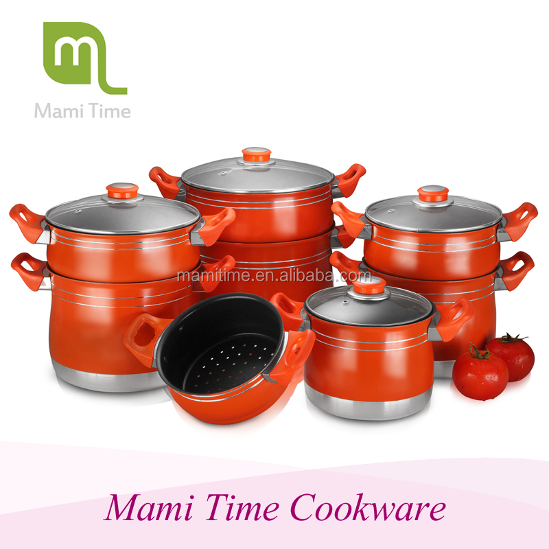 2015 hot sale Mami time New product aluminium steam cooking pot for sale with high quality