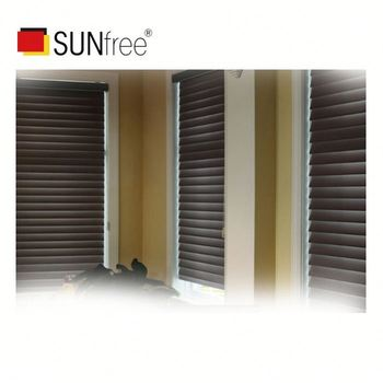 Factory high quality new design living room shade translucent polyester modern roman shade blinds for with dual straps