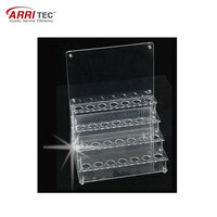 Hot sale acrylic recording pen display for supermarket