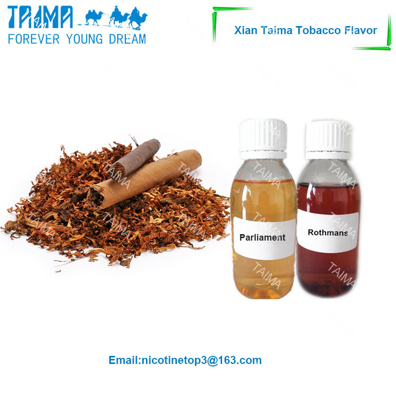 Tobacco concentrate flavour for free sample