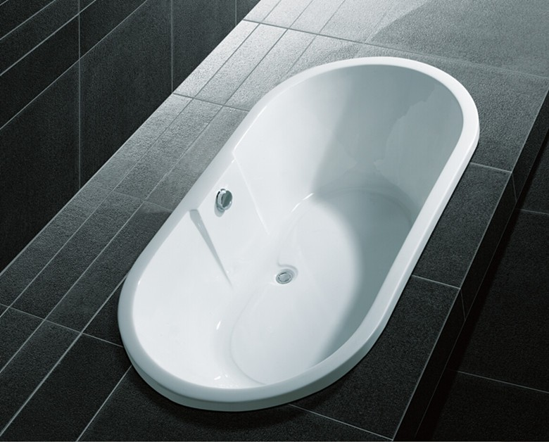 Model: Q112A Cheap arylic sigle person Made in China /chese design drop in bathtub with good price