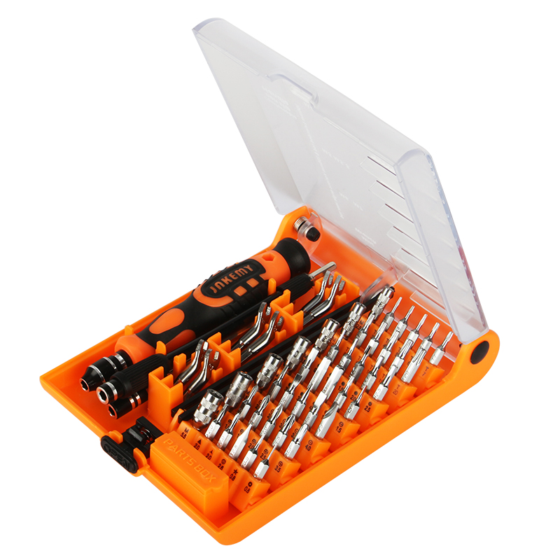 New Coming with rubber handle ratchet screwdriver tool kit