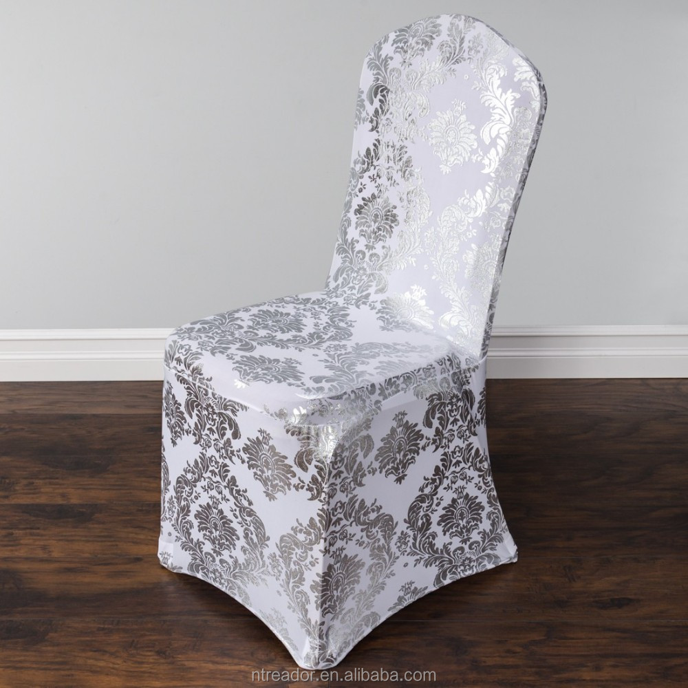 Jacquard Spandex Chair Cover Wedding Party Rental