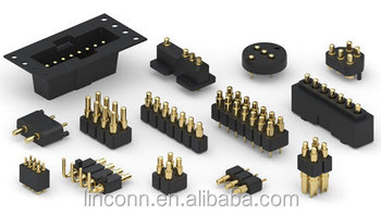 95f8260d8d0 Pcb Spring Battery Connector Target Pin Connector 12v - Buy 4 Pin ...