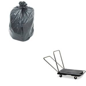 KITPNL519RCP440000 - Value Kit - Rubbermaid Utility-Duty Home/Office Cart (RCP440000) and Penny Lane Linear Low Density Repro Can Liners (PNL519)