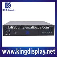 32Channels 12V CIF VGA 2U Standalone DVR, 2 USB ports