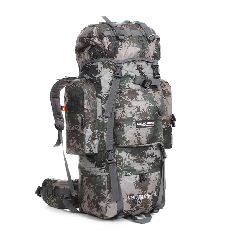 80 liter 90l Army Molle 3D Assault Tactical Military Camping Backpacks cover Waterproof hunting Travelling Wholesale Backpack