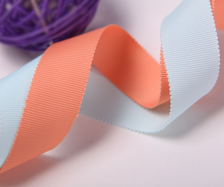 100% Polyester Solid Color Petersham Ribbon Hat Ribbon