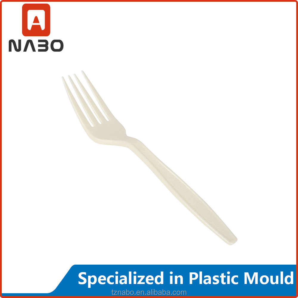 plastic fork injection kitchenware mould cheap