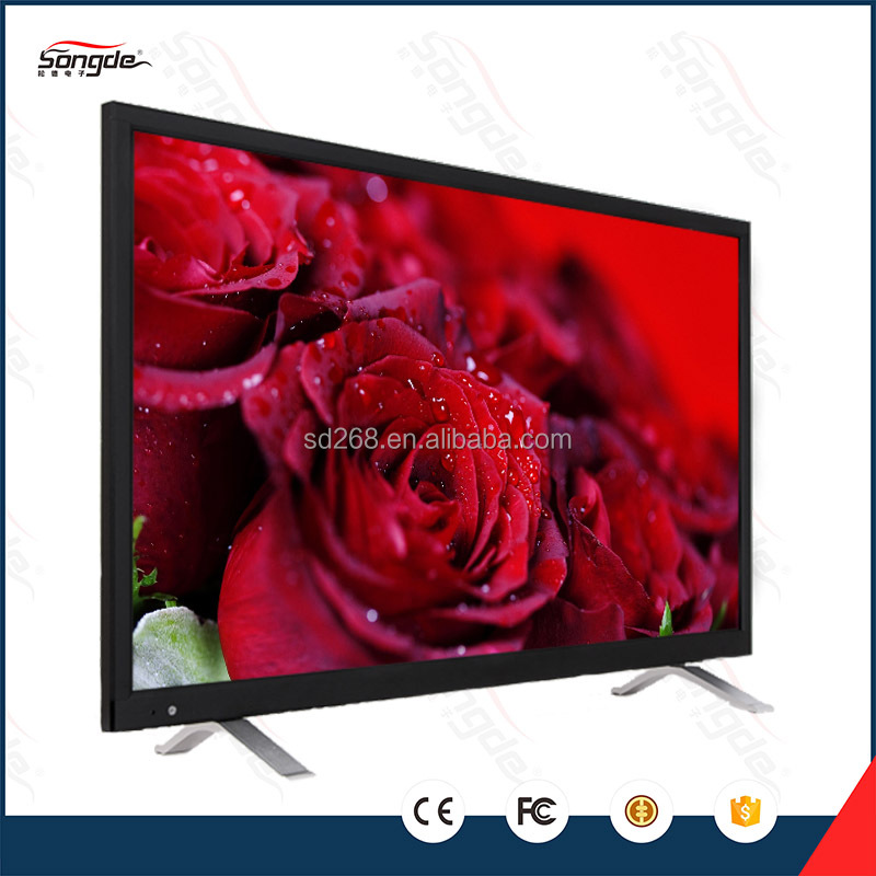hot selling 65inch led UHD tv with metal frame