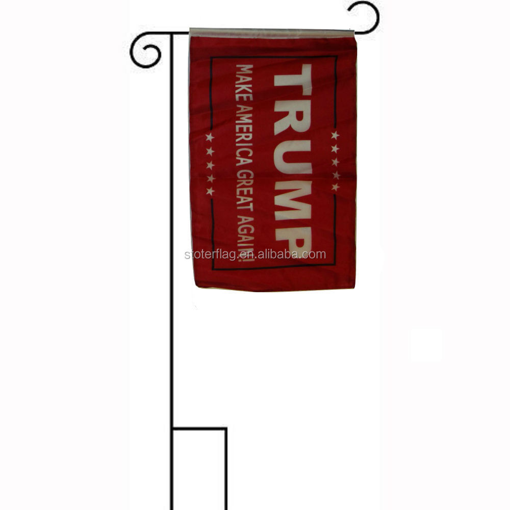 President Trump American Great Red Sleeved w/ Garden Flag