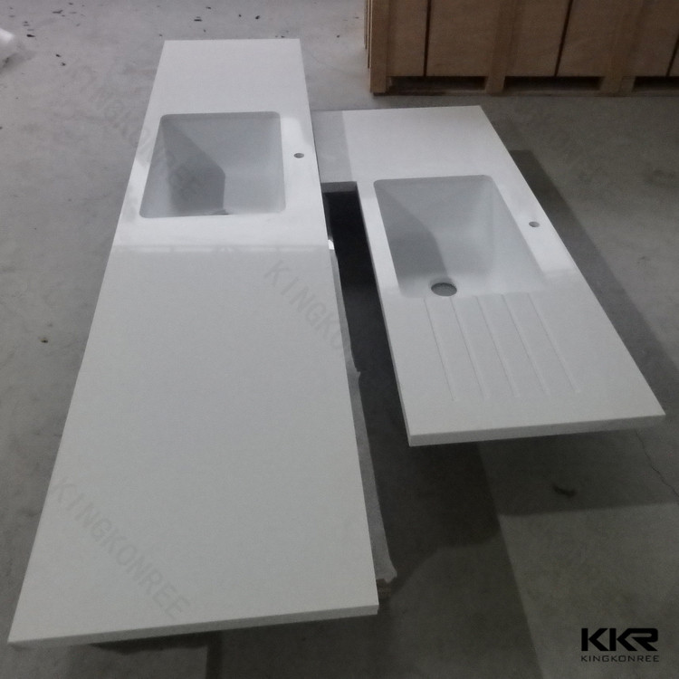 Attractive 100% Acrylic Solid Surface Polymer Countertops /countertop Manufacturer    Buy Vanity Top,Solid Surface Countertop,Precut Kitchen Countertop Product  On ...