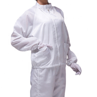 ESD-Safe Anti-static LAB Smock Work Clothes Coats With Trousers For Women Men