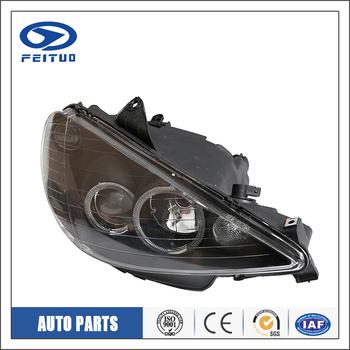Accessoires de voiture led phare auto ampoules Pour PEUGEOT 206