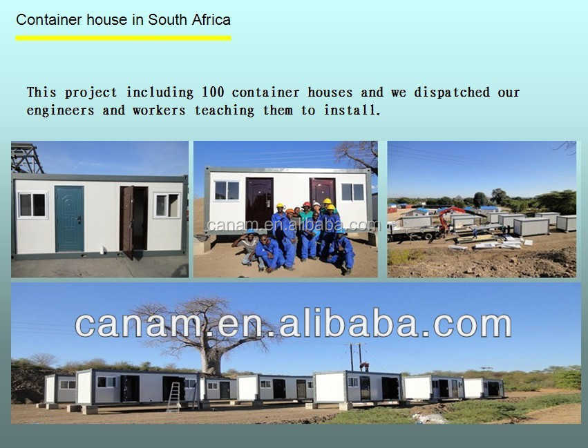 CANAM-Prefab modular low cost wooden chalet house