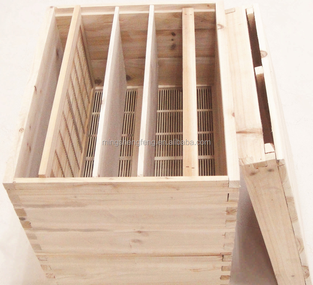 High quality fir pine wood bee hive for beekeeping honey bee house