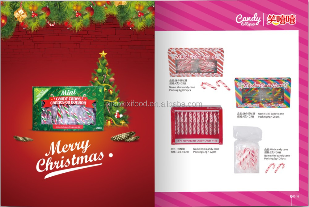 3 layer Tub Candy cane with Natural color