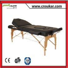 Wooden portable massages table for pregnant women--WTA005