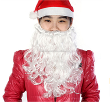 Zealhoney Christmas Santa White Party Fake Beard Moustache