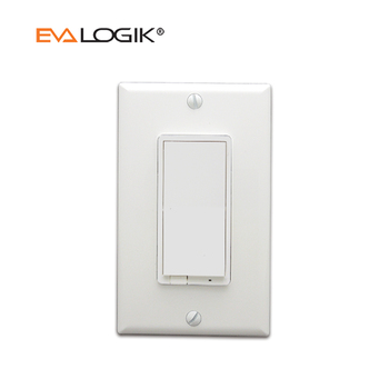 z wave smart iot remote control push button digital 120v led wall