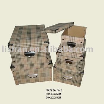 pretty cardboard storage box with lids buy storage box. Black Bedroom Furniture Sets. Home Design Ideas