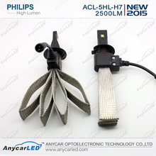 New style 2500lm with high beam headlight china auto vaz depo