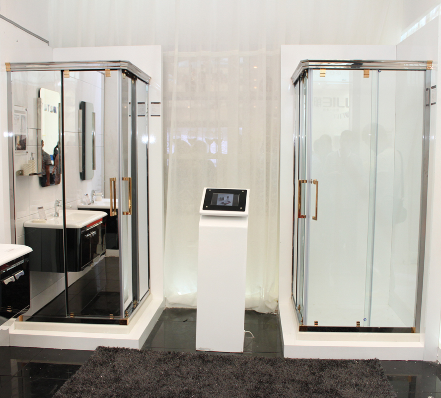 Stainless Steel Enclosed Shower Cubicles 20828 - Buy Hotel Shower ...