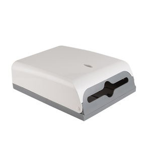 White plastic hand free paper towel dispenser FQ-609-A