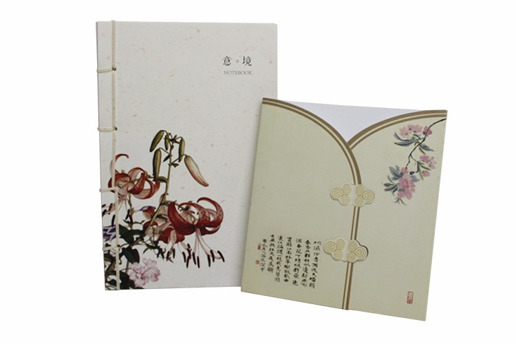 OEM Chinese supplier recycled paper spiral binding cover school notebook