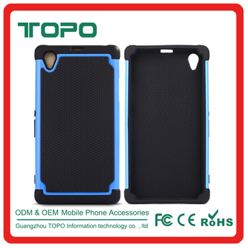 official photos 18cb5 d20aa 3 In 1 Pc Silicone Tpu Football Grain Combo Case For Sony Xperia Z5 E6603  E6633 E6653 E6683 Phone Back Cover - Buy Football Pattern Mobile Phone  Cover ...
