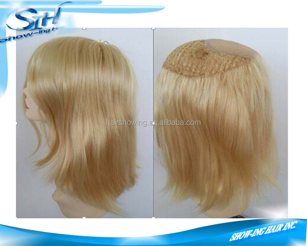 remy indian hair fishnet women hair toupee