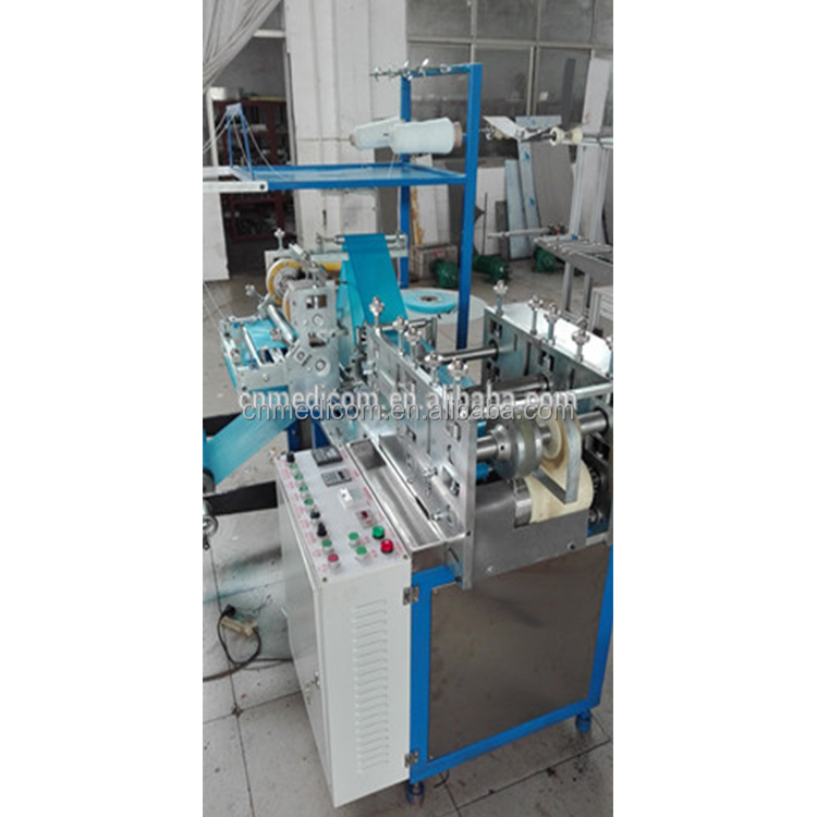 Disposable PE shoe cover machine high output