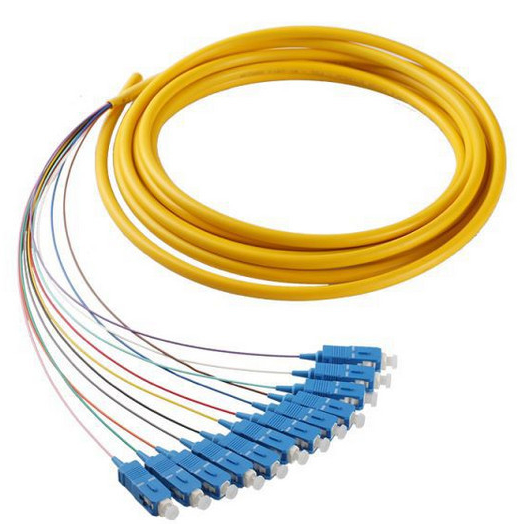 ST to ST 50//125 65.2//125 Duplex Multimode 3.0mm Fiber Optic Patch Cable 1m, 50//125
