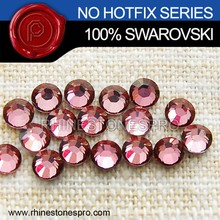 Bijoux <span class=keywords><strong>Swarovski</strong></span> Elements Rose Antique (ANTP) 34ss Dos Plat Cristal Non Hotfix Strass