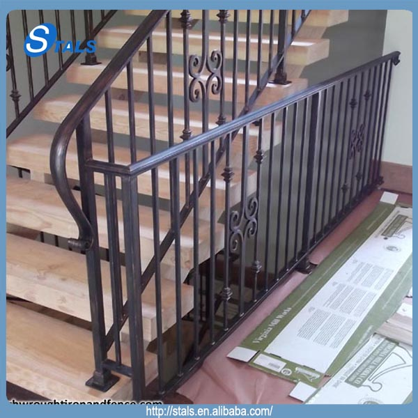 Exquisite Staircase Design exquisite floating staircase designs for your dream homes Exquisite Wrought Iron Railing Straight Staircase Design For Villa
